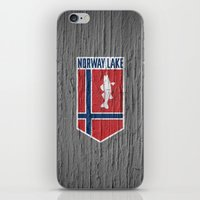 NORWAY LAKE / Sunburg / … iPhone & iPod Skin