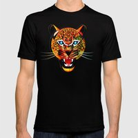 Jaguar Mens Fitted Tee Black SMALL