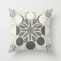 Luna Poetica Throw Pillow