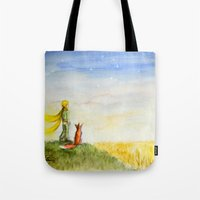 Little Prince, Fox And W… Tote Bag