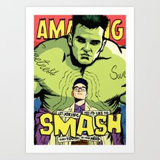 Post-Punk Smash Art Print