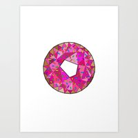 Never Enough Donuts Art Print