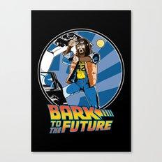 Bark to the Future Canvas Print