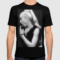 Gag Me Madge Mens Fitted Tee Black SMALL