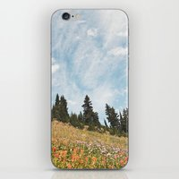 Mountain Flowers In The … iPhone & iPod Skin