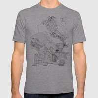 Key Mens Fitted Tee Athletic Grey SMALL