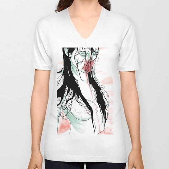 Living Dead Girl V-neck T-shirt
