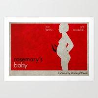 R's Baby Art Print