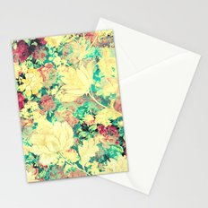 Vintage Flowers XXXVIII - for iphone Stationery Cards