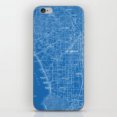 Los Angeles Street Map iPhone & iPod Skin