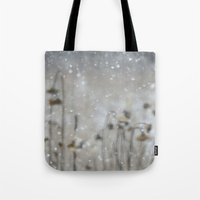 Sunflowers in the Snow Tote Bag