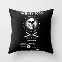 daily specials Throw Pillow