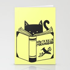 How To Kill a Mockingbird (Yellow) Stationery Cards