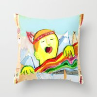 Sing! Throw Pillow
