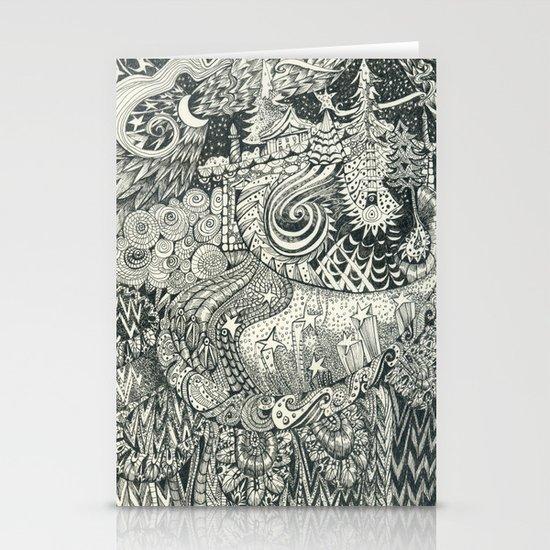 Enchanted Stationery Card