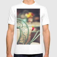 The chair and the pillow Mens Fitted Tee SMALL White