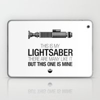 This Is My Lightsaber (L… Laptop & iPad Skin