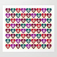 The Universe Double Love… Art Print