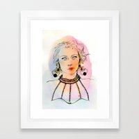 Scorpio (Zodiac series) Framed Art Print