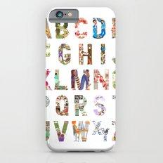 ABC of professions Slim Case iPhone 6s