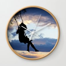 Her dreams are perfect Wall Clock