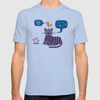 The Conversation Mens Fitted Tee Athletic Blue SMALL
