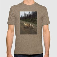Fox Trot Mens Fitted Tee Tri-Coffee SMALL