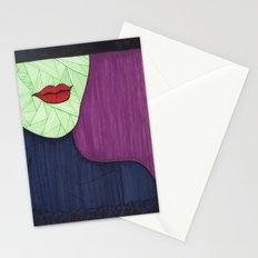 All About the Lips 4 Stationery Cards