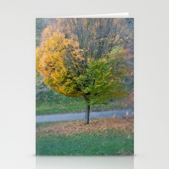 Autumnal Stationery Card