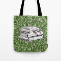 Book Drawing Meditation (artistic)  Tote Bag