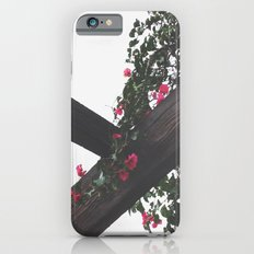 Wooden & Flowers Slim Case iPhone 6s