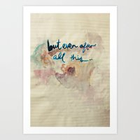 Real Love Art Print