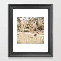 How Now! Framed Art Print