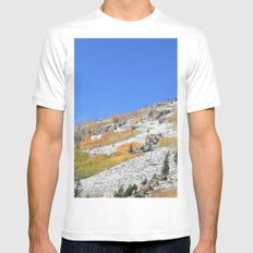 First Snow Mens Fitted Tee SMALL White