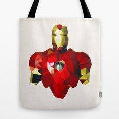 Polygon Heroes - Iron Man Tote Bag