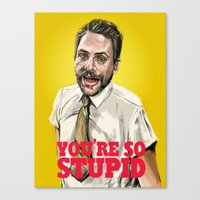Charlie Kelly Canvas Print