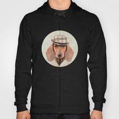 The stylish Mr Dachshund Hoody