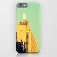 iPhone & iPod Case featuring Moon Over Morse Avenue by helene smith photography