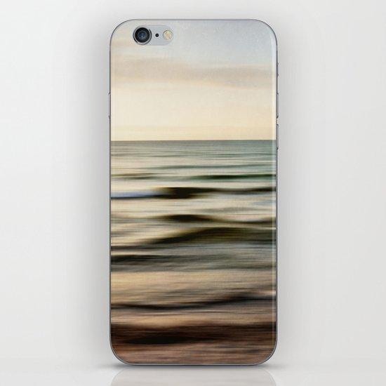 sea square I iPhone & iPod Skin