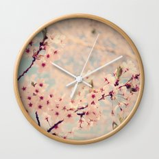 cherry Blossoms 2 Wall Clock