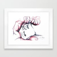 Passion Framed Art Print