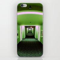 Green Corridor iPhone & iPod Skin