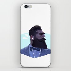 Manly Man iPhone & iPod Skin