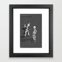 Janet And John Play This… Framed Art Print