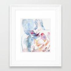small piece 11 Framed Art Print