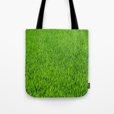 Green Grass Pattern Tote Bag