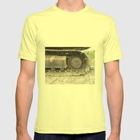 Digger Mens Fitted Tee Lemon SMALL