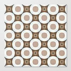 Neutral Circles Canvas Print