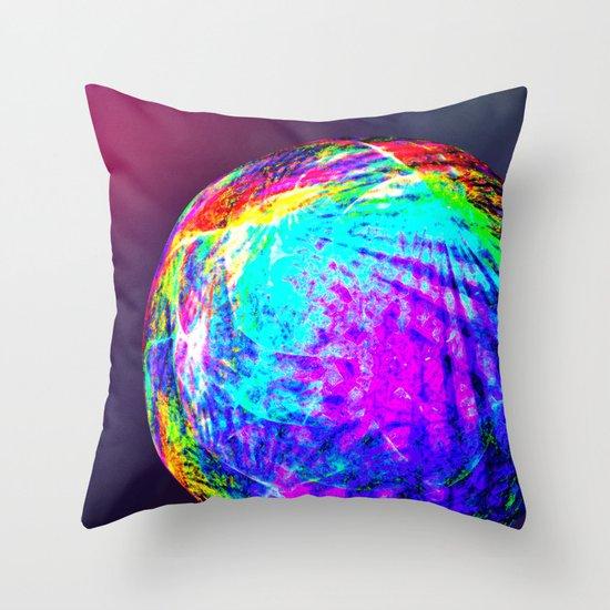 Planet of Fairies Throw Pillow