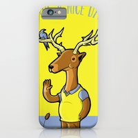 iPhone & iPod Case featuring Nice Horacio by Pahito